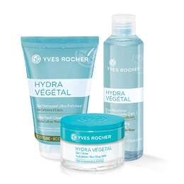 Set - Hydra Végétal Normal to Combination (with micellar water)