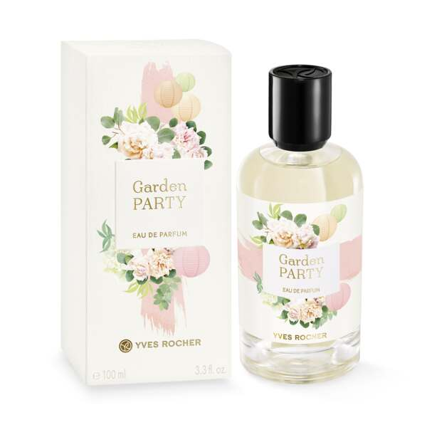Eau de Parfum - Garden Party, ros, grönmynta, 100 ml