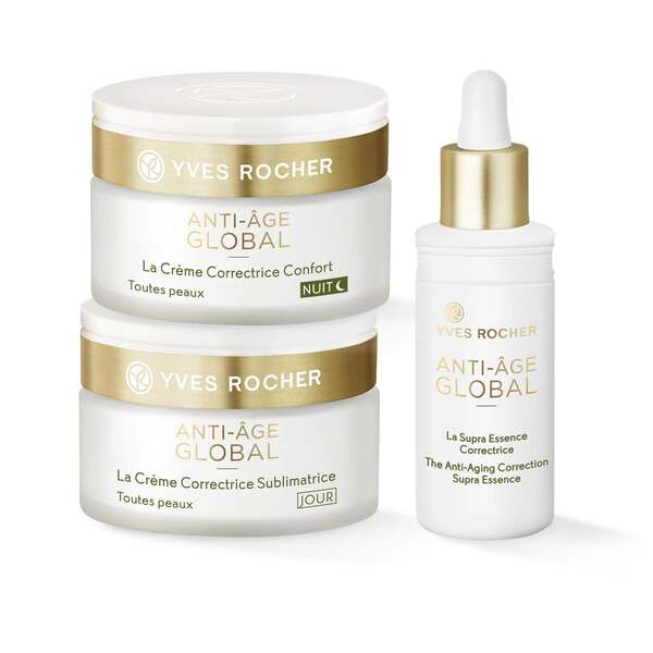 Set - Anti-Age Global, Serum, Dagkräm, Nattkräm